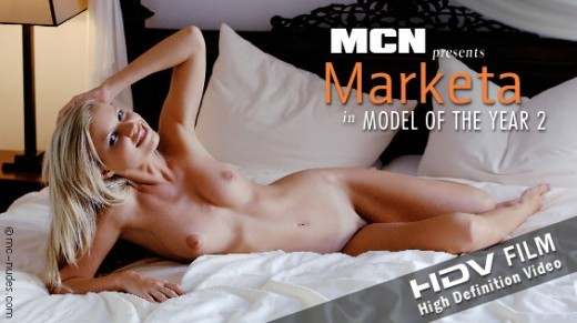 Marketa in Model of the Year 2 video from MC-NUDES VIDEO