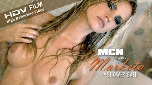 Marketa - `Shower Bath` - for MC-NUDES VIDEO
