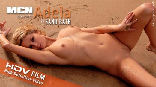 Adela - `Sand Bath` - for MC-NUDES VIDEO
