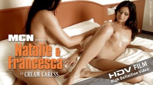 Natalie & Francesca - `Cream Caress` - for MC-NUDES VIDEO