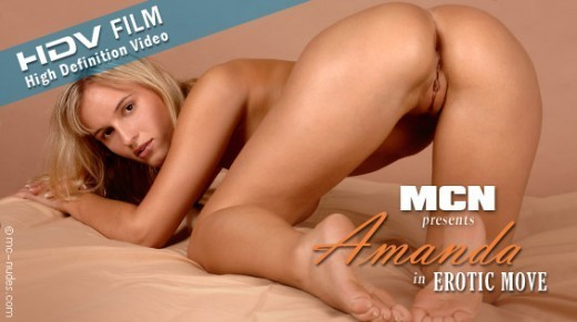 Amanda - `Erotic Move` - for MC-NUDES VIDEO