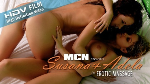 Susana & Adela - `Erotic Massage` - for MC-NUDES VIDEO