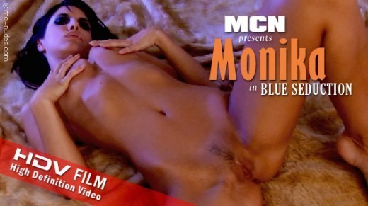 Monika - `Blue Seduction` - for MC-NUDES VIDEO