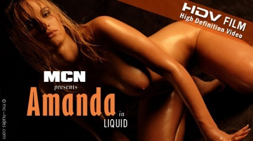 Amanda - `Amanda in Liquid` - for MC-NUDES VIDEO