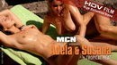 Adela & Susana in Tropical Heat video from MC-NUDES VIDEO