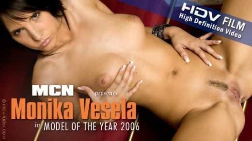 Monika Vesela - `Model of the Year 2006` - for MC-NUDES VIDEO
