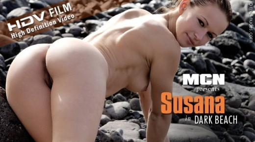 Susana - `Dark Beach` - for MC-NUDES VIDEO