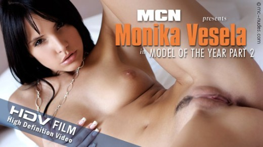 Monika Vesela - `Model of the Year Part 2` - for MC-NUDES VIDEO