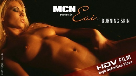 Evi - `Burning Skin` - for MC-NUDES VIDEO