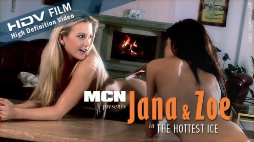 Jana & Zoe - `The Hottest Ice` - for MC-NUDES VIDEO