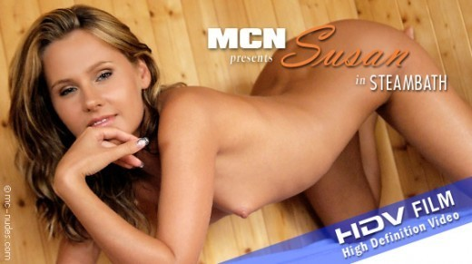 Susan - `Steambath` - for MC-NUDES VIDEO