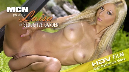 Luisa - `Seductive Garden` - for MC-NUDES VIDEO
