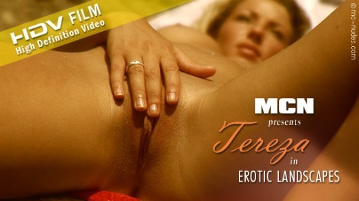 Tereza - `Erotic Landscapes` - for MC-NUDES VIDEO