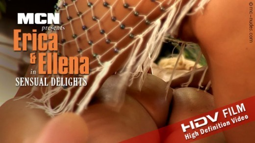 Erica & Ellena - `Sensual  Delights` - for MC-NUDES VIDEO