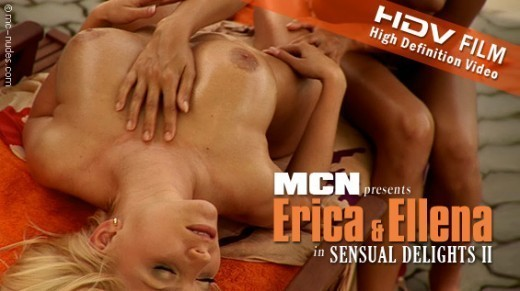 Erica & Ellena - `Sensual  Delights II` - for MC-NUDES VIDEO