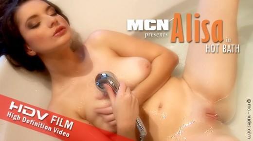 Alisa - `Hot Bath` - for MC-NUDES VIDEO