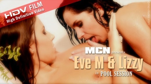 Eve M & Lizzy - `Eve M & Lizzy in Pool Session` - for MC-NUDES VIDEO