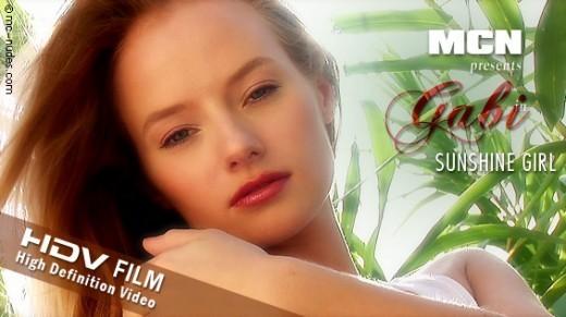 Gabi - `Sunshine Girl` - for MC-NUDES VIDEO