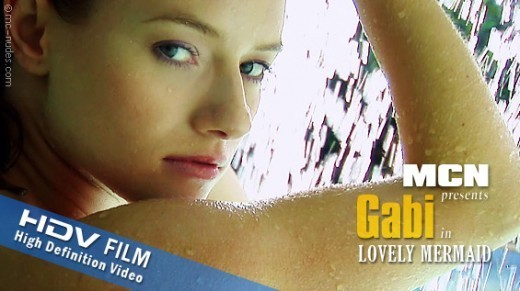 Gabi - `Lovely Mermaid` - for MC-NUDES VIDEO