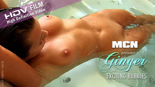 Ginger - `Exciting Bubbles` - for MC-NUDES VIDEO