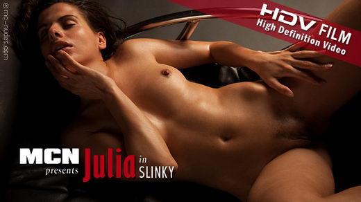 Julia - `Slinky` - for MC-NUDES VIDEO