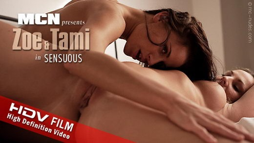 Zoe & Tami - `Sensuous` - for MC-NUDES VIDEO