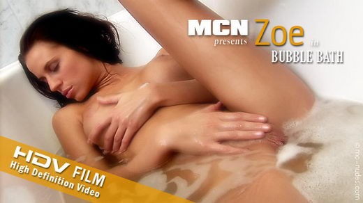 Zoe - `Bubble Bath` - for MC-NUDES VIDEO