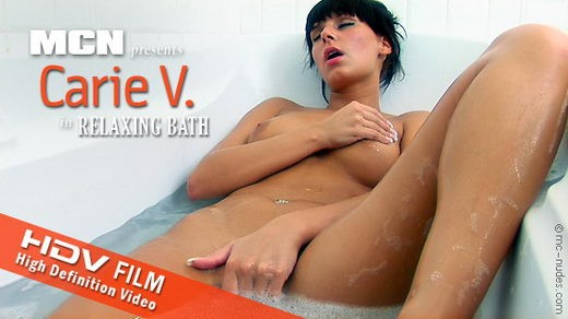Carie V - `Relaxing Bath` - for MC-NUDES VIDEO