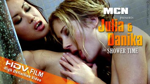 Julia & Danika - `Shower Time` - for MC-NUDES VIDEO