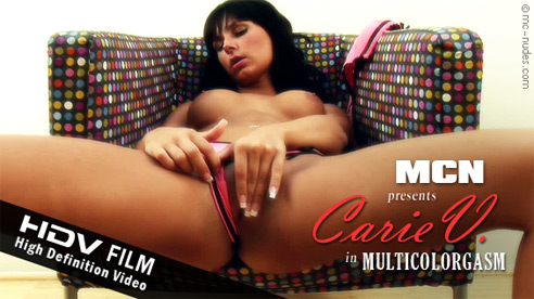 Carie V - `Multicolorgasm` - for MC-NUDES VIDEO