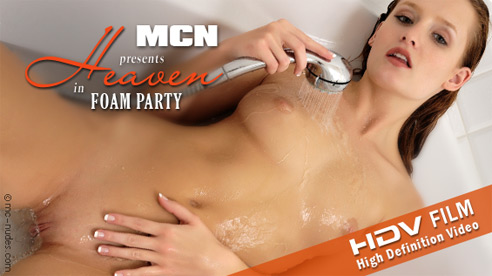 Heaven - `Foam Party` - for MC-NUDES VIDEO