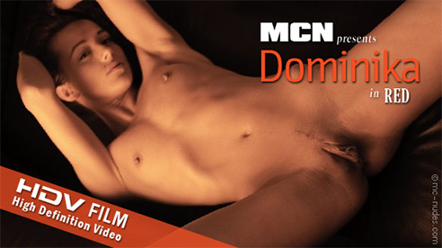 Dominika - `Red` - for MC-NUDES VIDEO