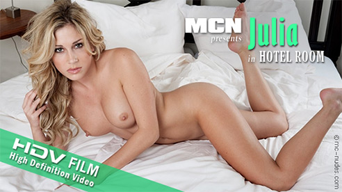 Julia - `Hotel Room` - for MC-NUDES VIDEO