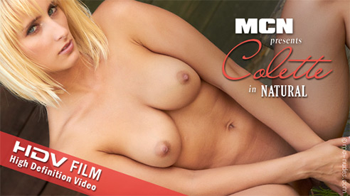 Colette - `Natural` - for MC-NUDES VIDEO