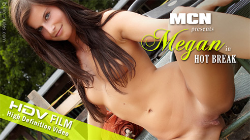 Megan - `Hot Break` - for MC-NUDES VIDEO