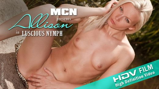 Allison - `Luscious Nymph` - for MC-NUDES VIDEO