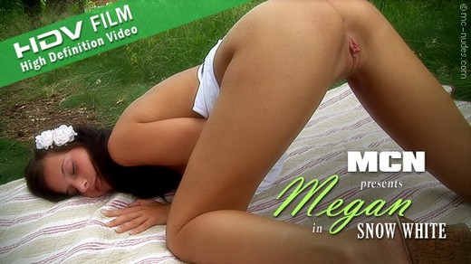 Megan - `Snow White` - for MC-NUDES VIDEO