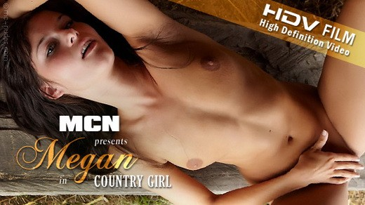 Megan - `Country Girl` - for MC-NUDES VIDEO