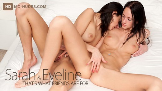 Sarah & Eveline - `That's What Friends are For` - for MC-NUDES VIDEO