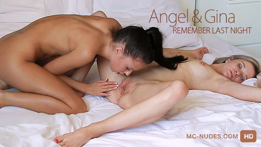 Angel & Gina - `Remember Last Night` - for MC-NUDES VIDEO