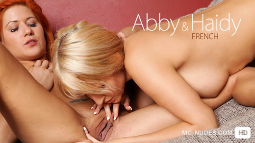 Abby & Haidy - `French` - for MC-NUDES VIDEO