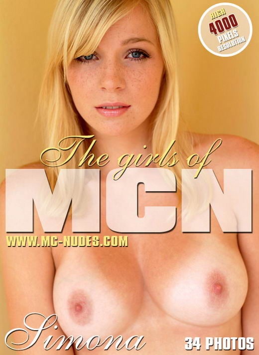 Simona - `Blonde Passion` - for MC-NUDES