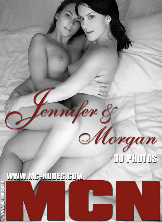 Jennifer & Morgan - `The Playmates` - for MC-NUDES