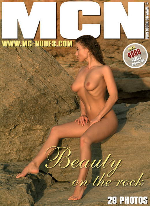 Claudia - `Beauty On The Rock` - for MC-NUDES