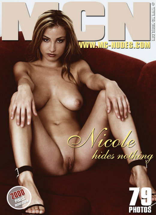 Nicole - `She Hides Nothing` - for MC-NUDES