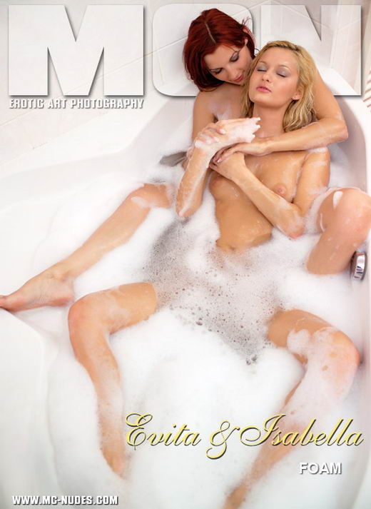 Evita & Isabella - `Foam` - for MC-NUDES