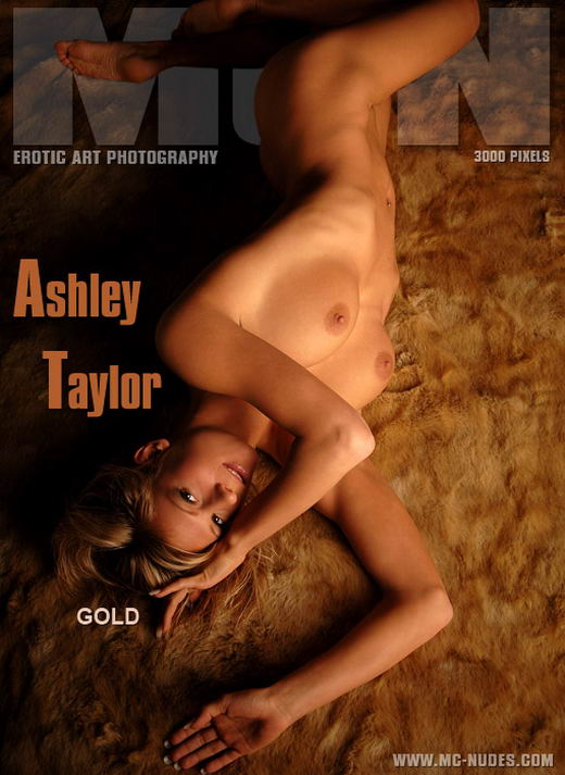 Ashley Taylor in Gold gallery from MC-NUDES