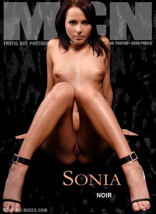 Sonia in Noir gallery from MC-NUDES