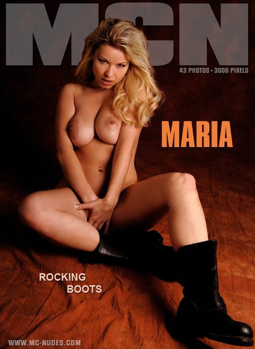Maria - `Rocking Boots` - for MC-NUDES