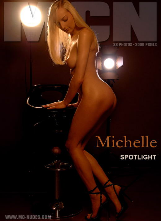Michelle - `Spotlight` - for MC-NUDES